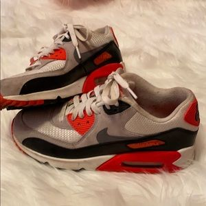 Nike Air max 90s red and white